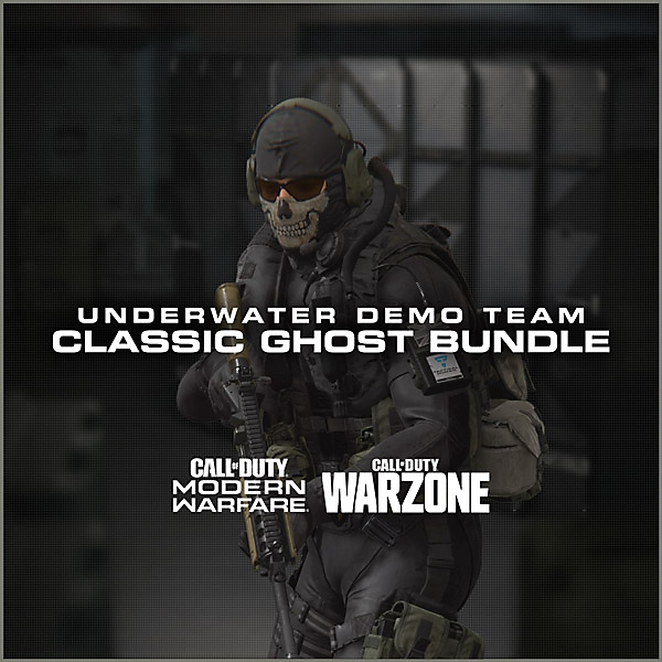 Call of Duty modern warfare 2 remastered - Ghost bundle art