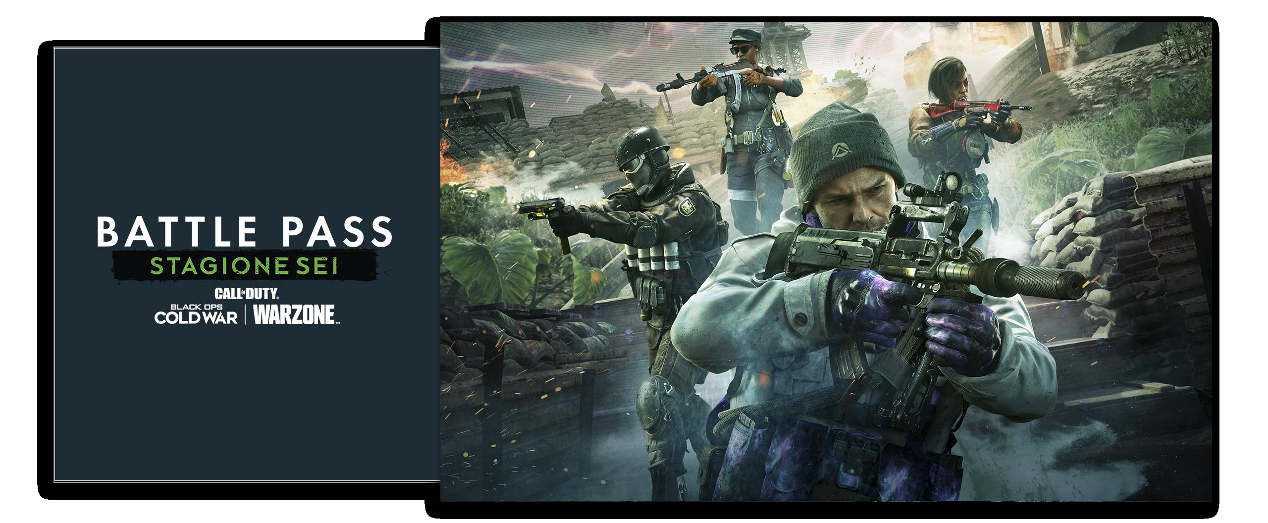 Grafica Battle Pass Call of Duty