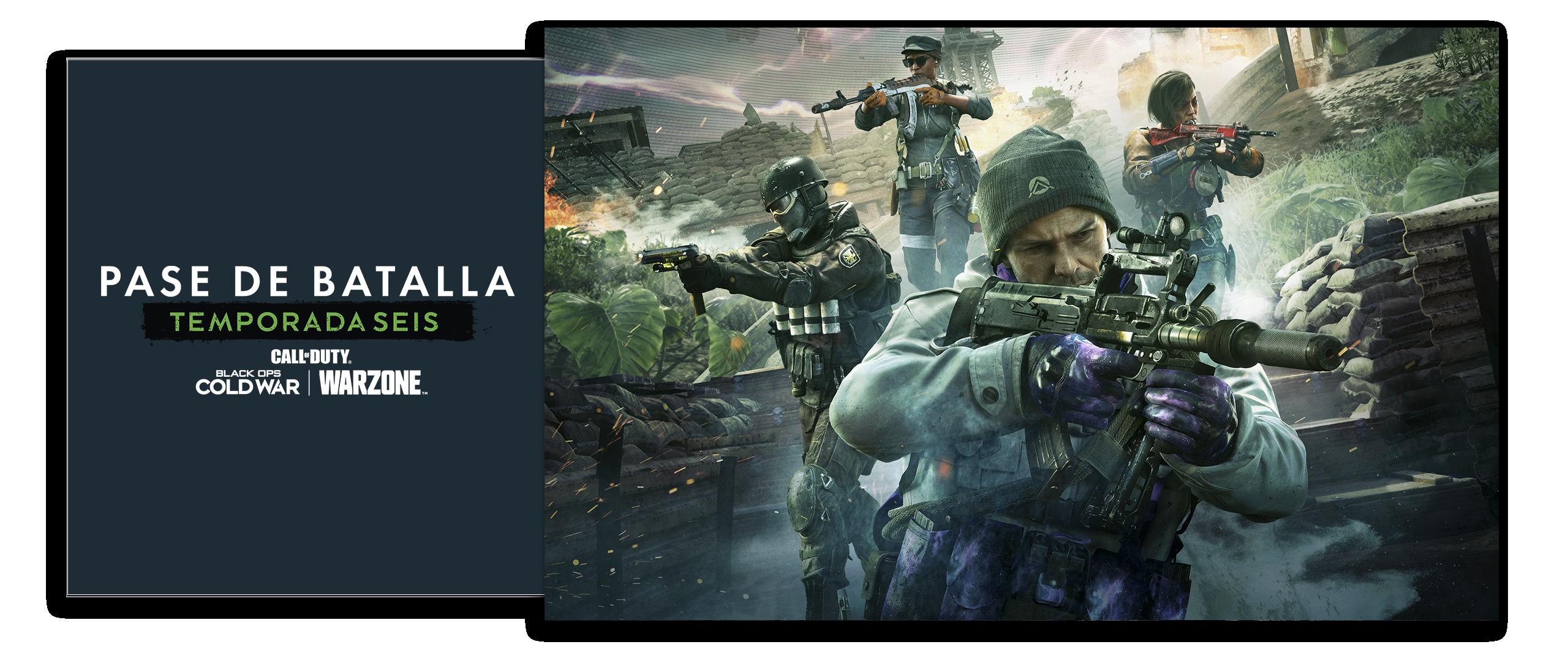 Arte do Passe de Batalha da Temporada 6 de Call of Duty Black Ops Cold War