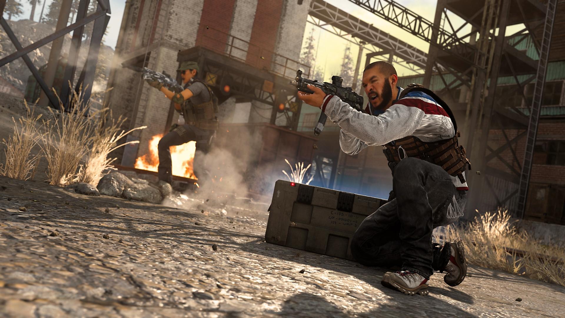 Captura de pantalla de caja de suministros de Call of Duty Warzone