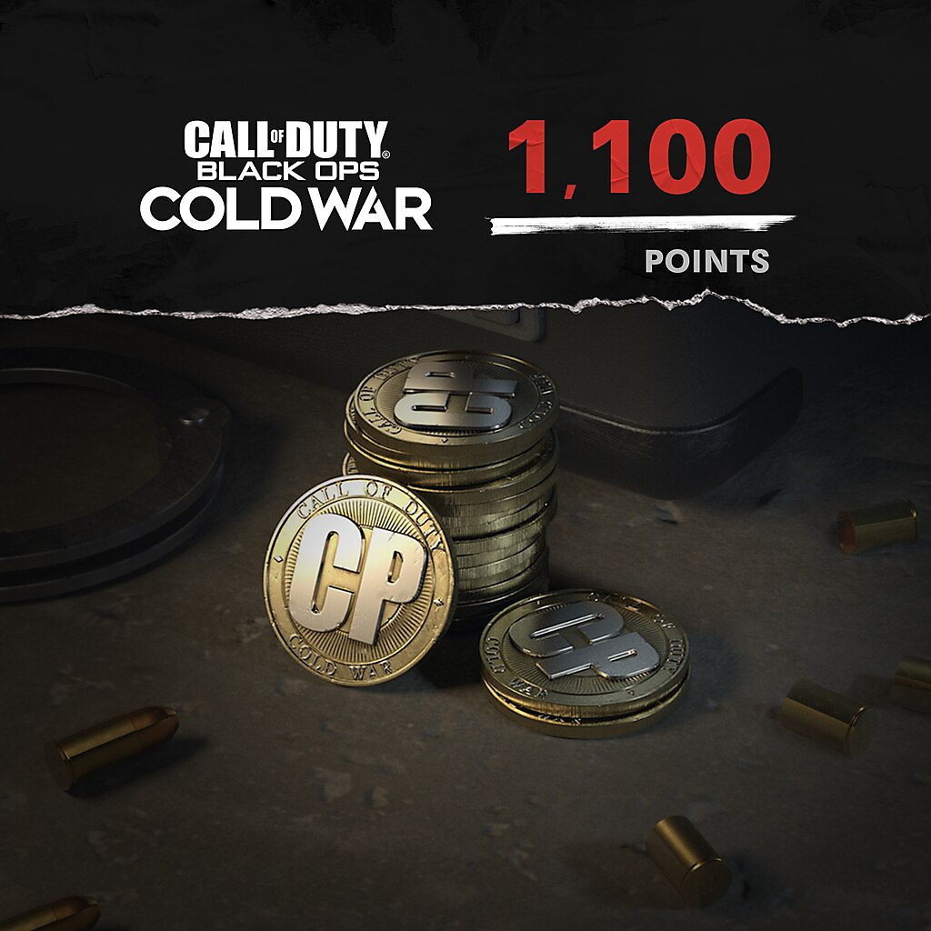 Call of Duty Black Ops Cold War points 1100 paket resmi