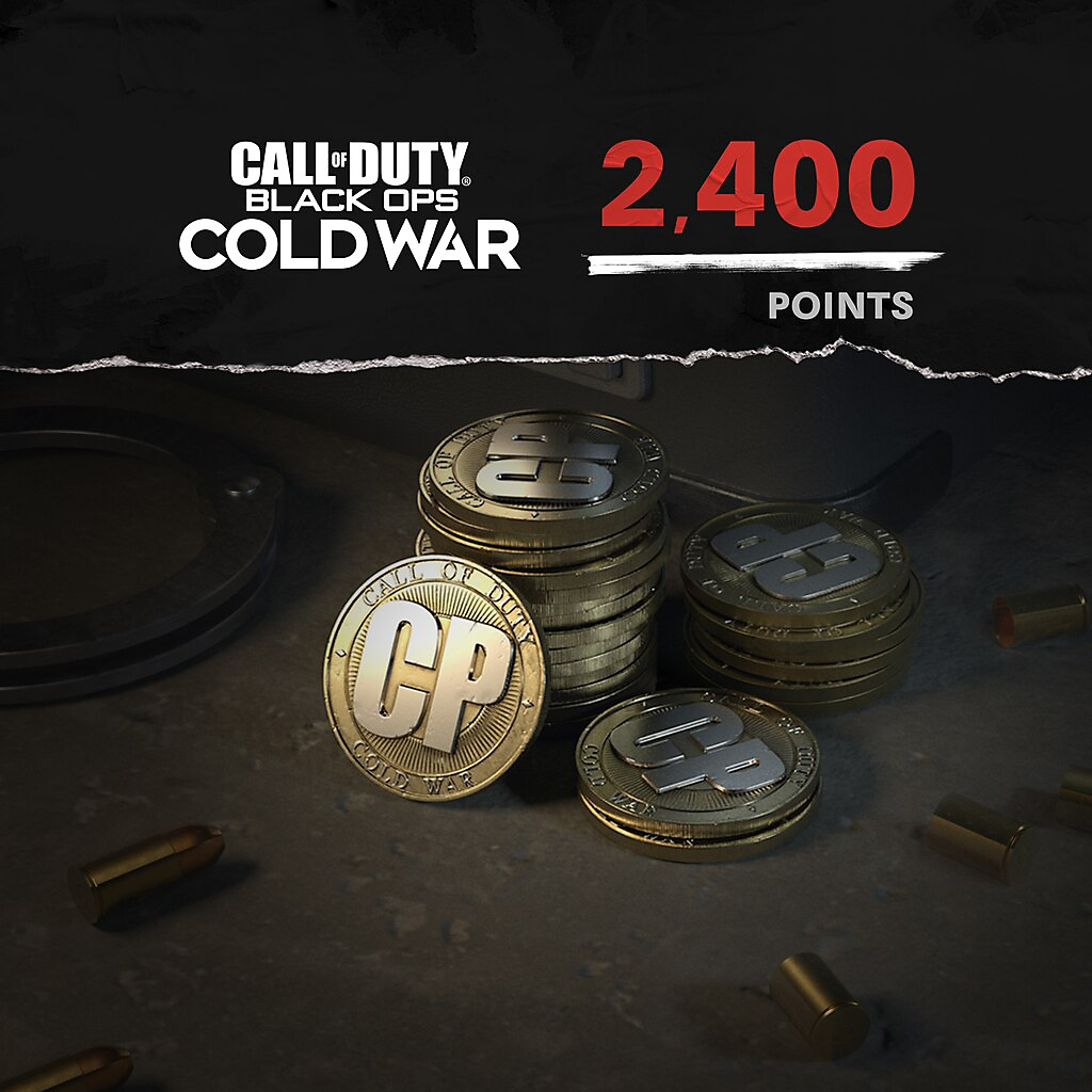 Call of Duty Black Ops Cold War points 2400 paket resmi