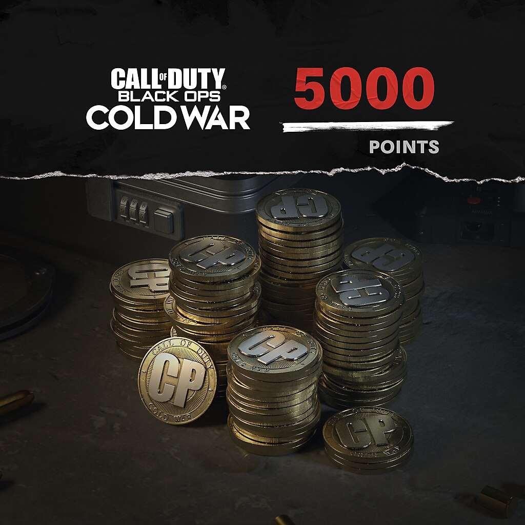 Call of Duty Black Ops Cold War points 5000 paket resmi