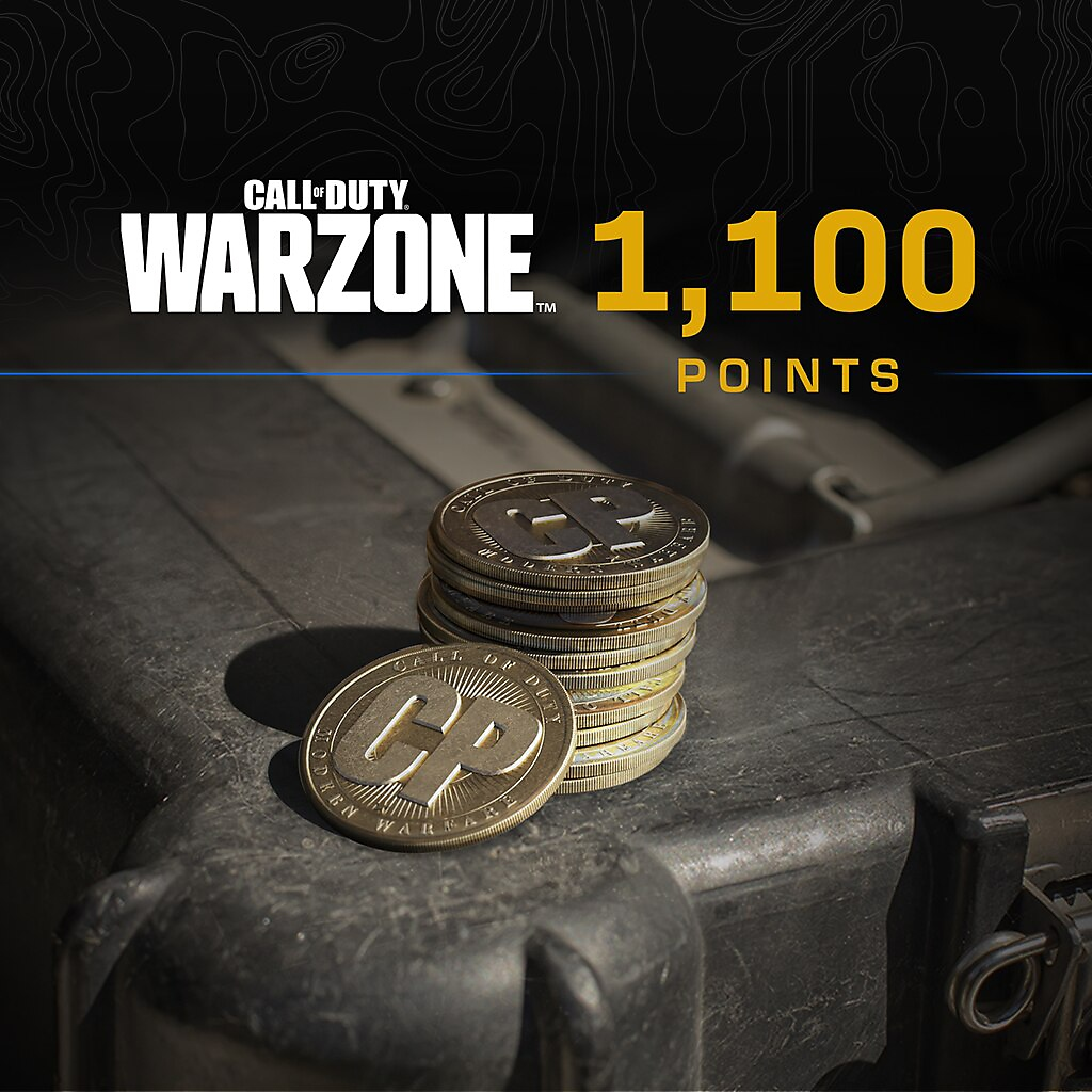 Call of Duty Warzone points 1100 packshot