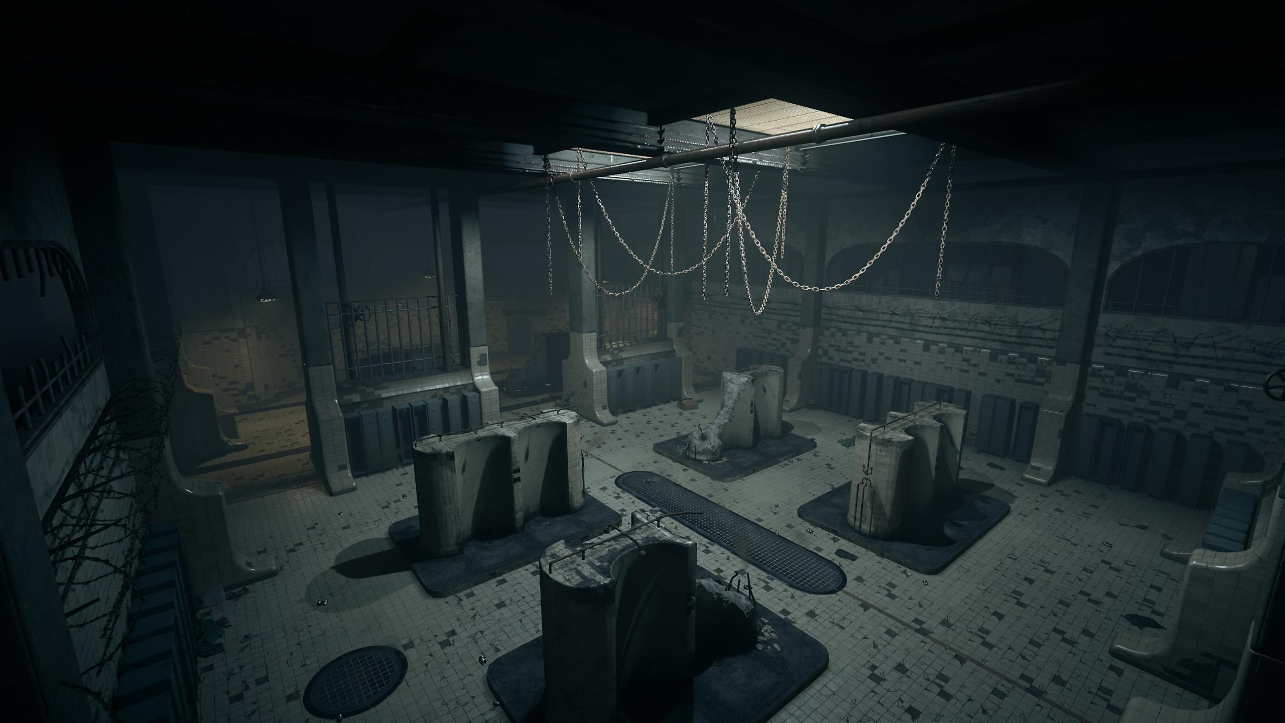 Captura de tela do Gulag de Call of Duty Warzone