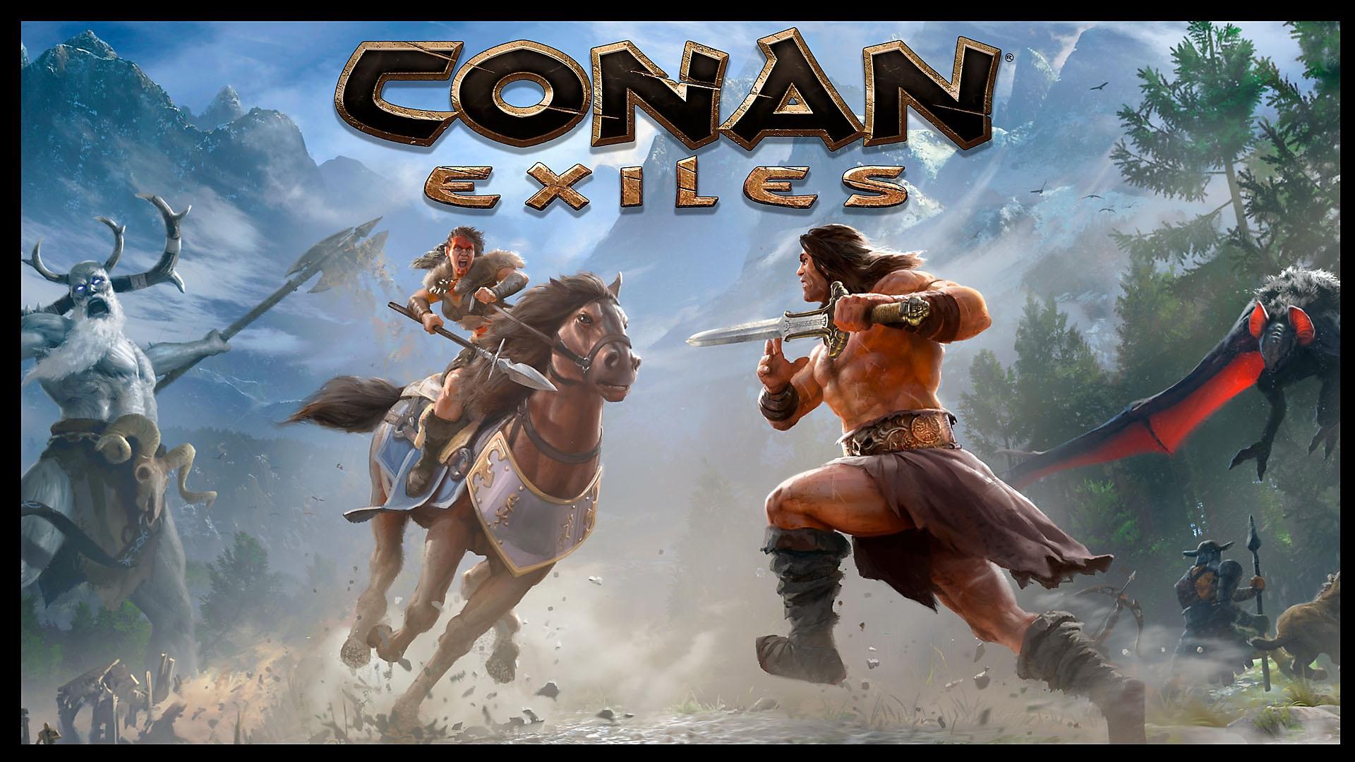 Conan: Exiles Tráiler cuenta regresiva de lanzamiento