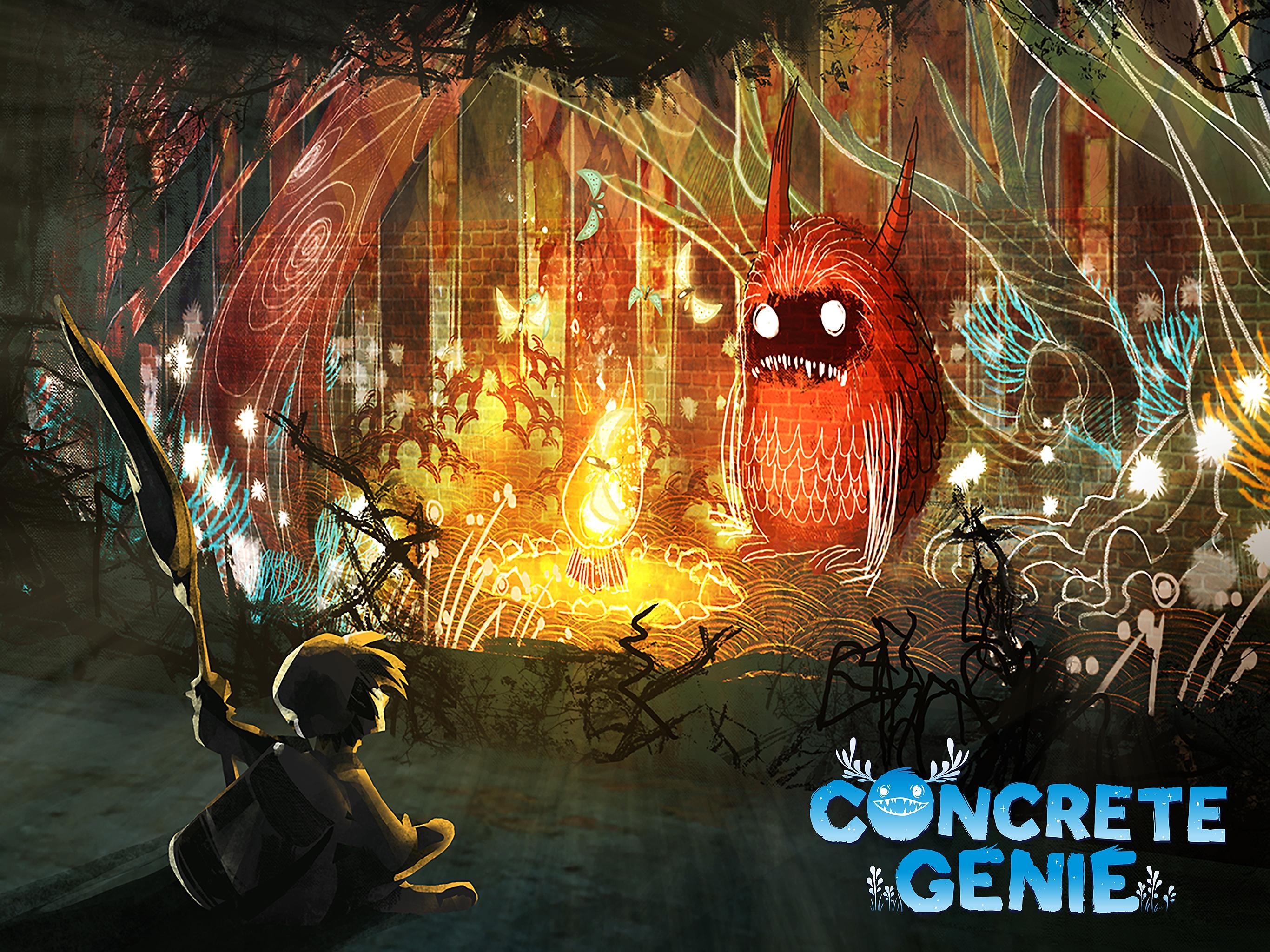Concrete Genie - таблет