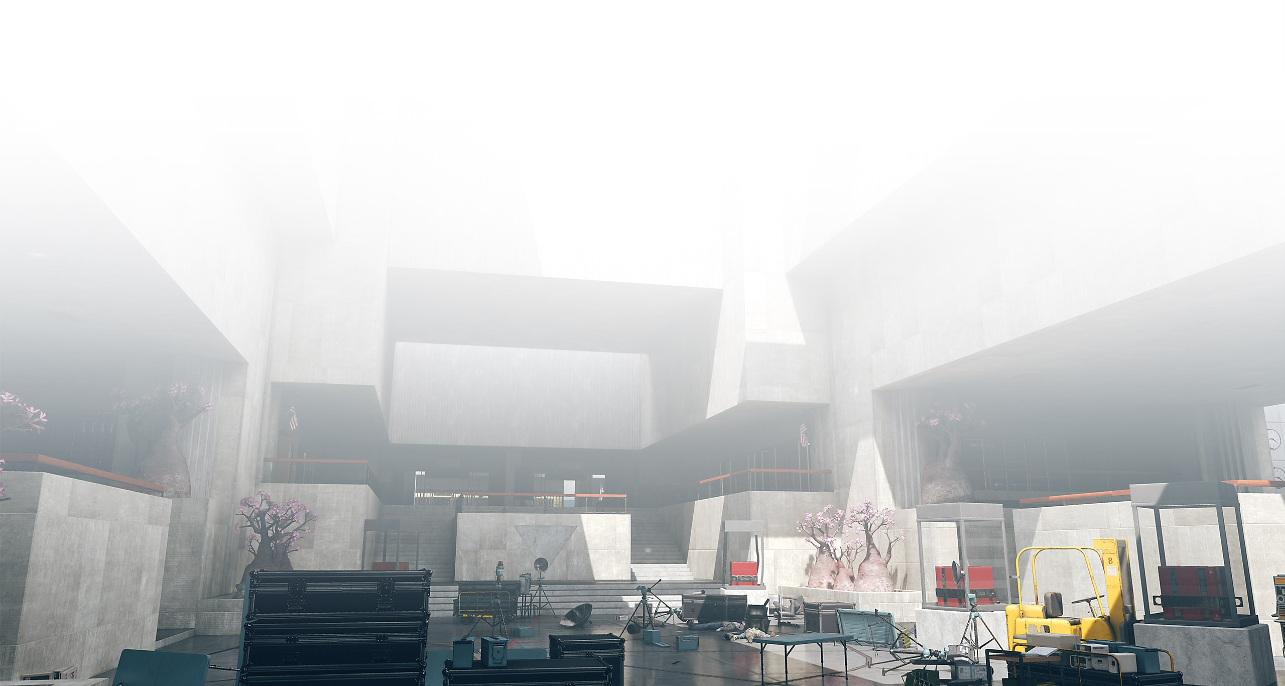Get lost in an ever-shifting building beset by supernatural forces