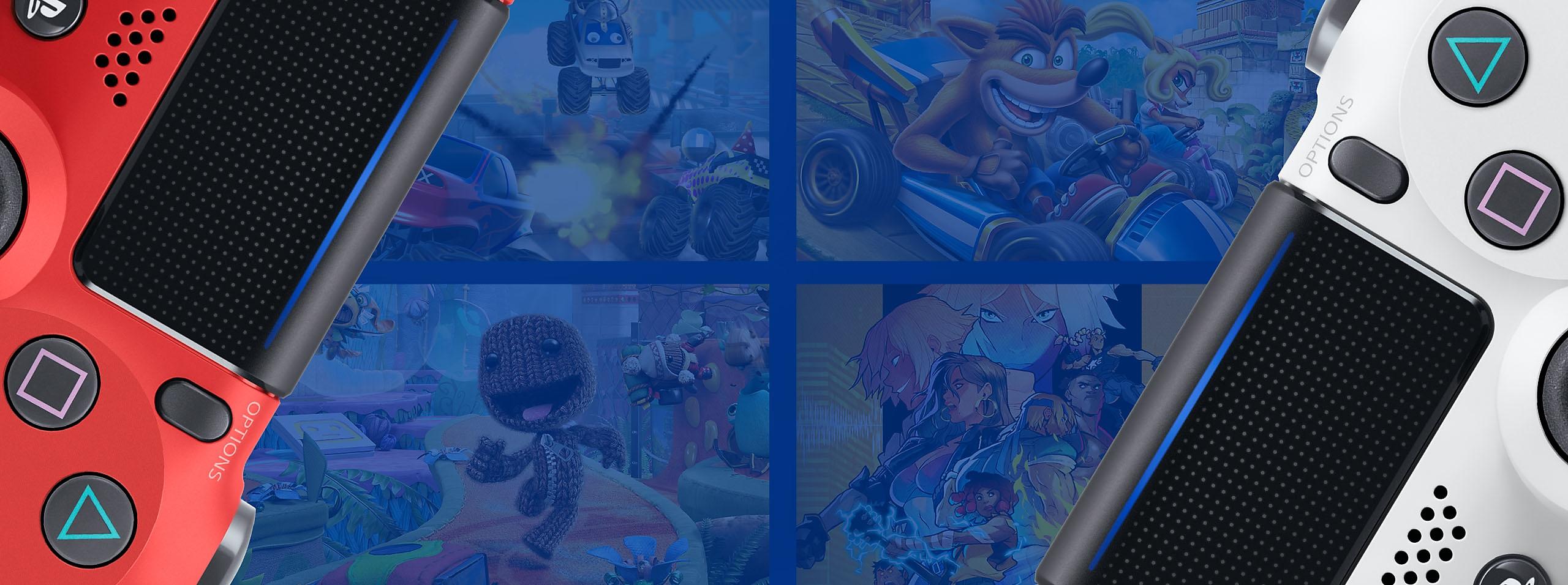 Arte promocional de Mejores juegos de multijugador de sofá de PS4