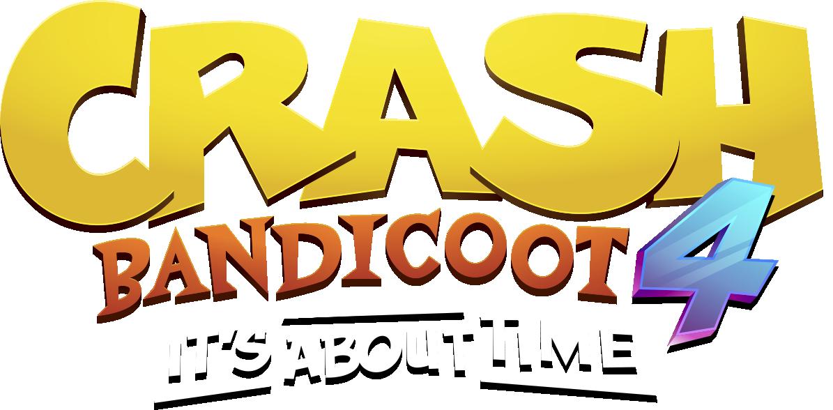 Crash Bandicoot 4: It's About Time logo