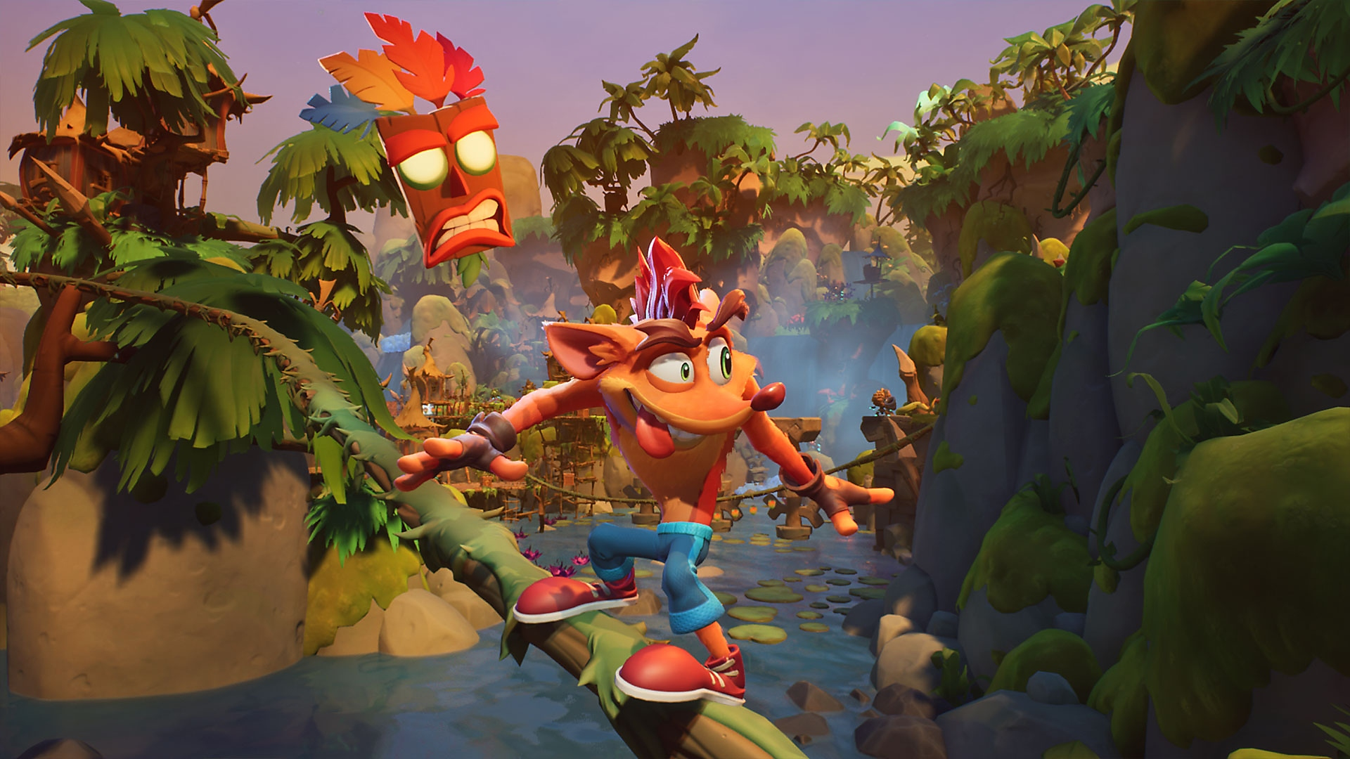 Crash Bandicoot 4: It's About Time – Bemutató képernyőkép