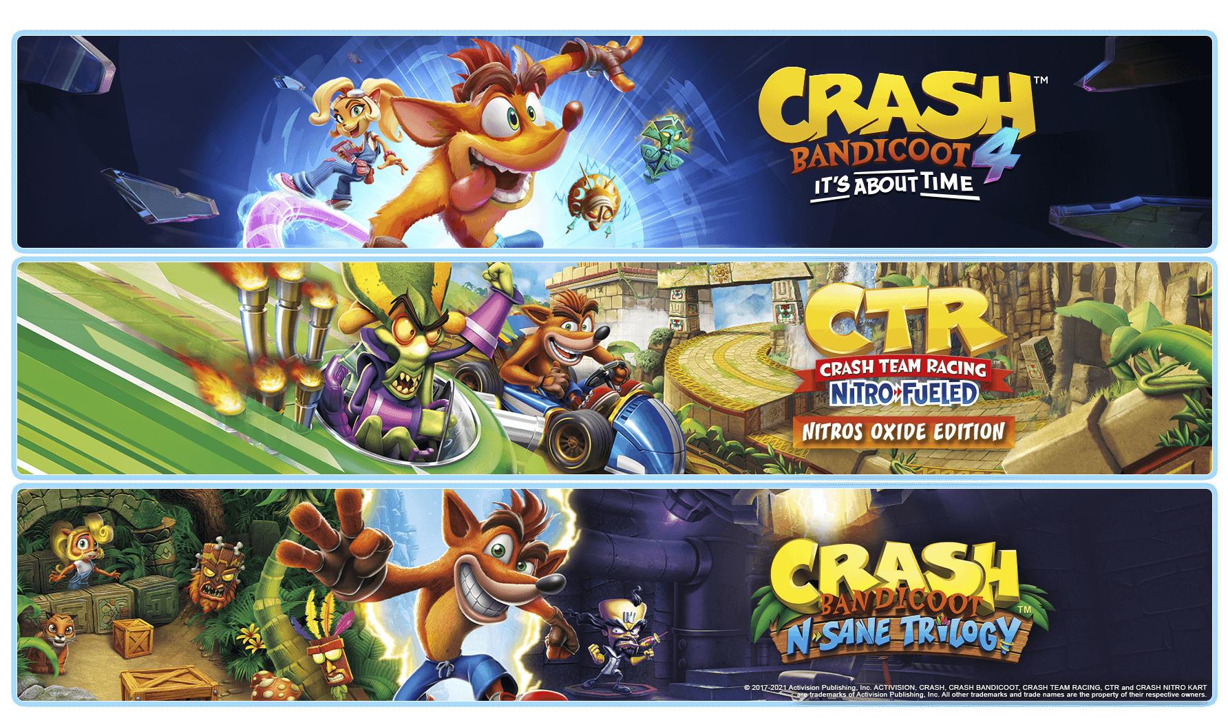 Crash Bandicoot Quadrilogy – obrázok balíčka z obchodu