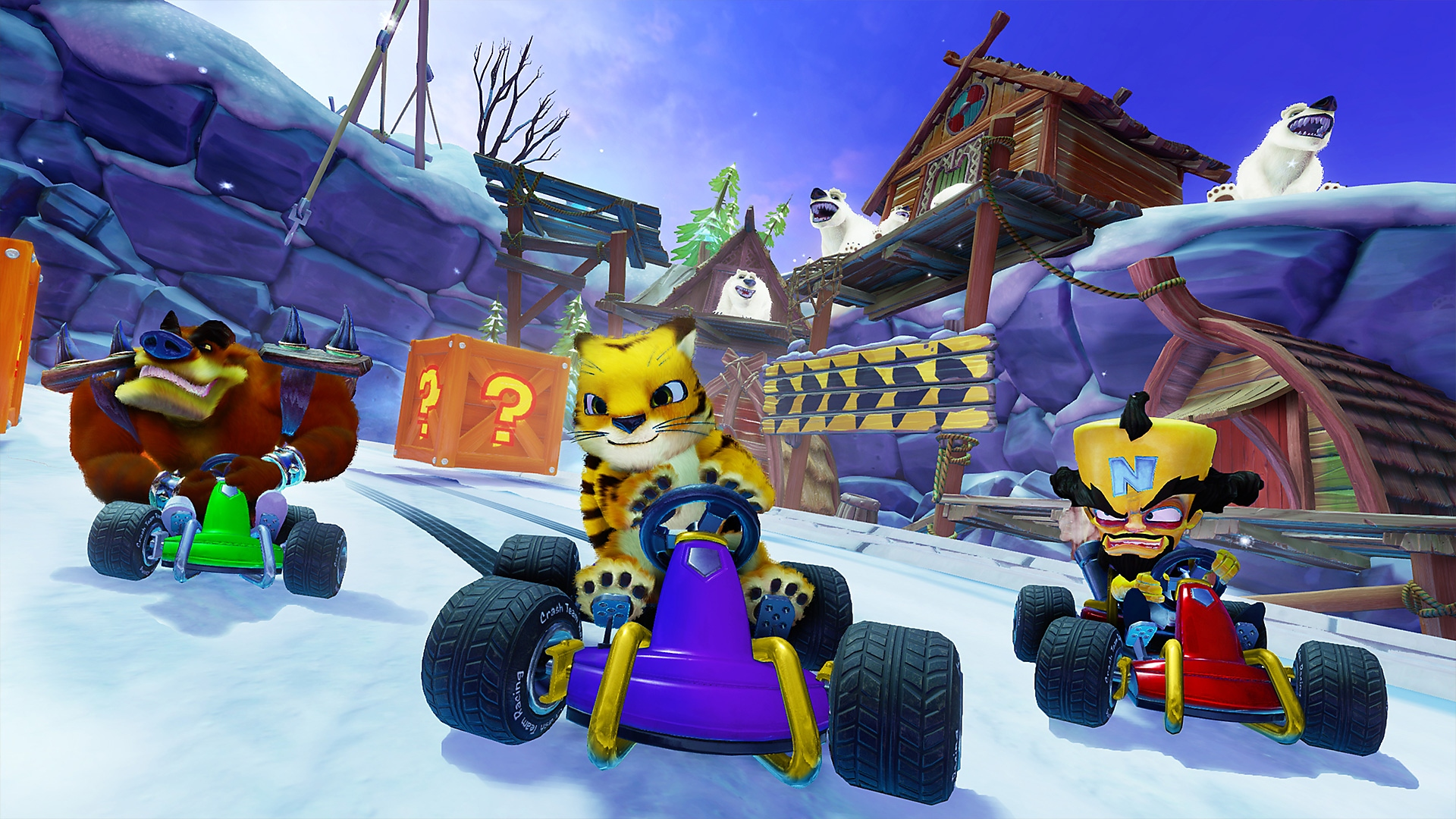 Crash Team Racing - Captura de pantalla
