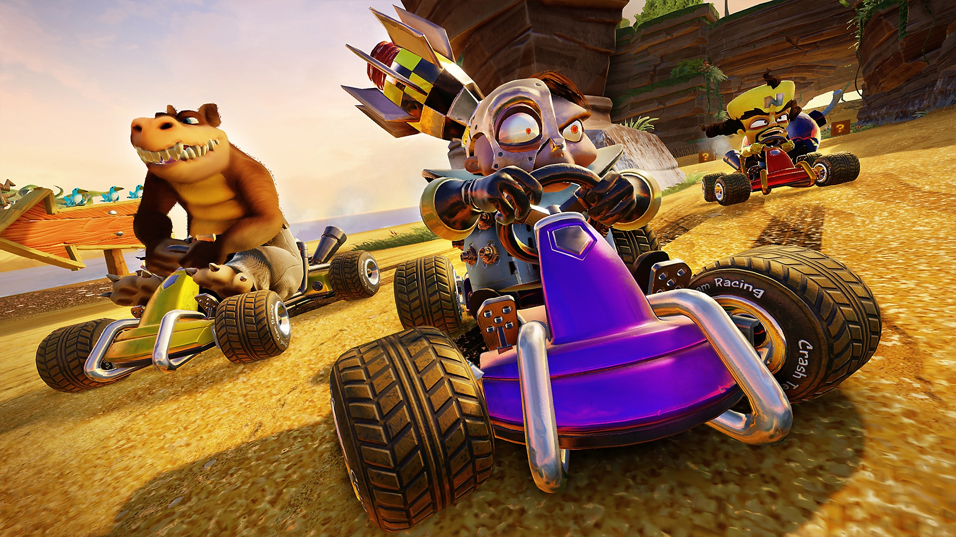 Crash Team Racing - لقطة شاشة