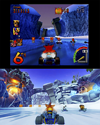 Crash Team Racing Nitro-Fueled antiguo/nuevo