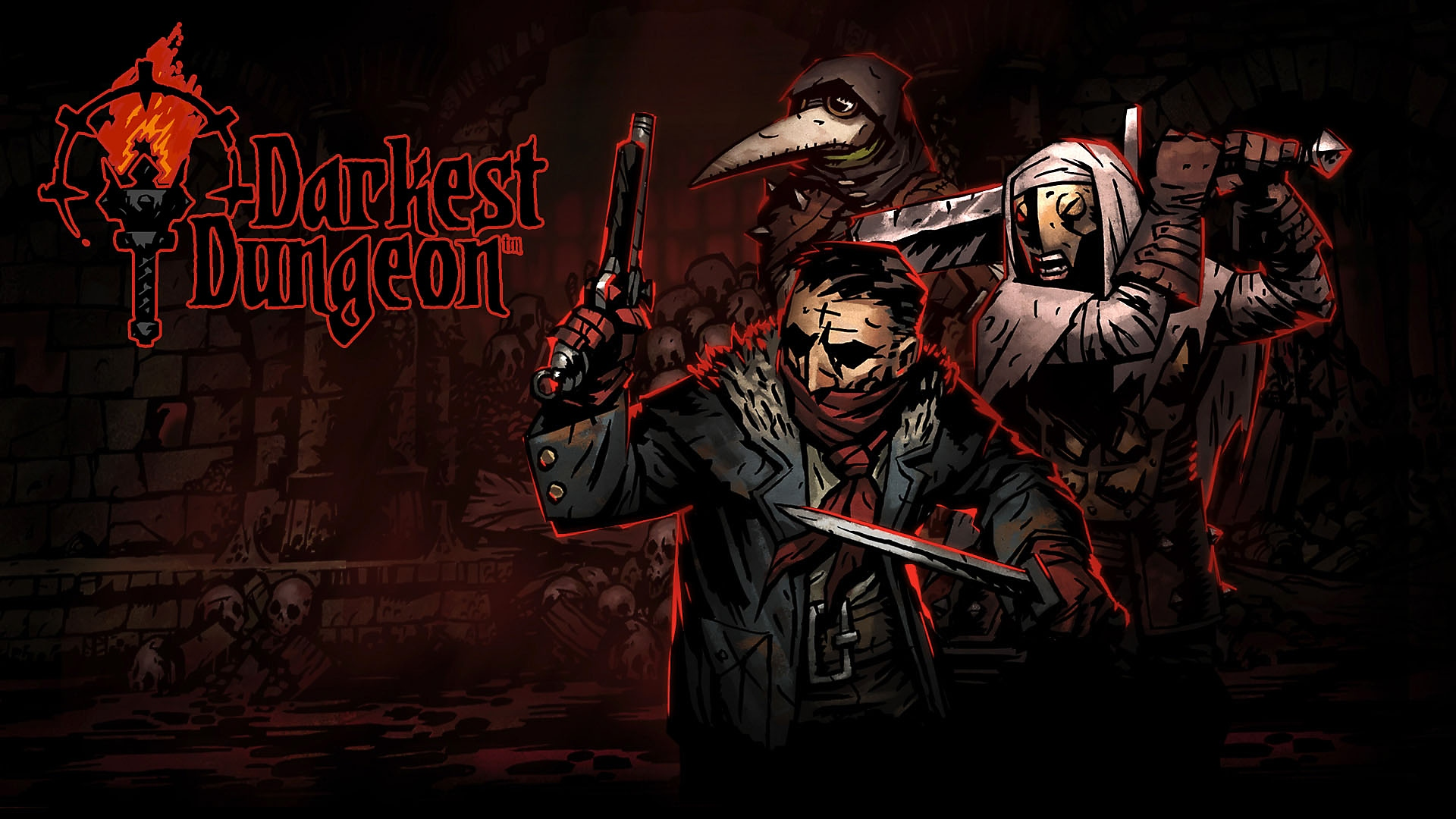 Arte principal de Darkest Dungeon