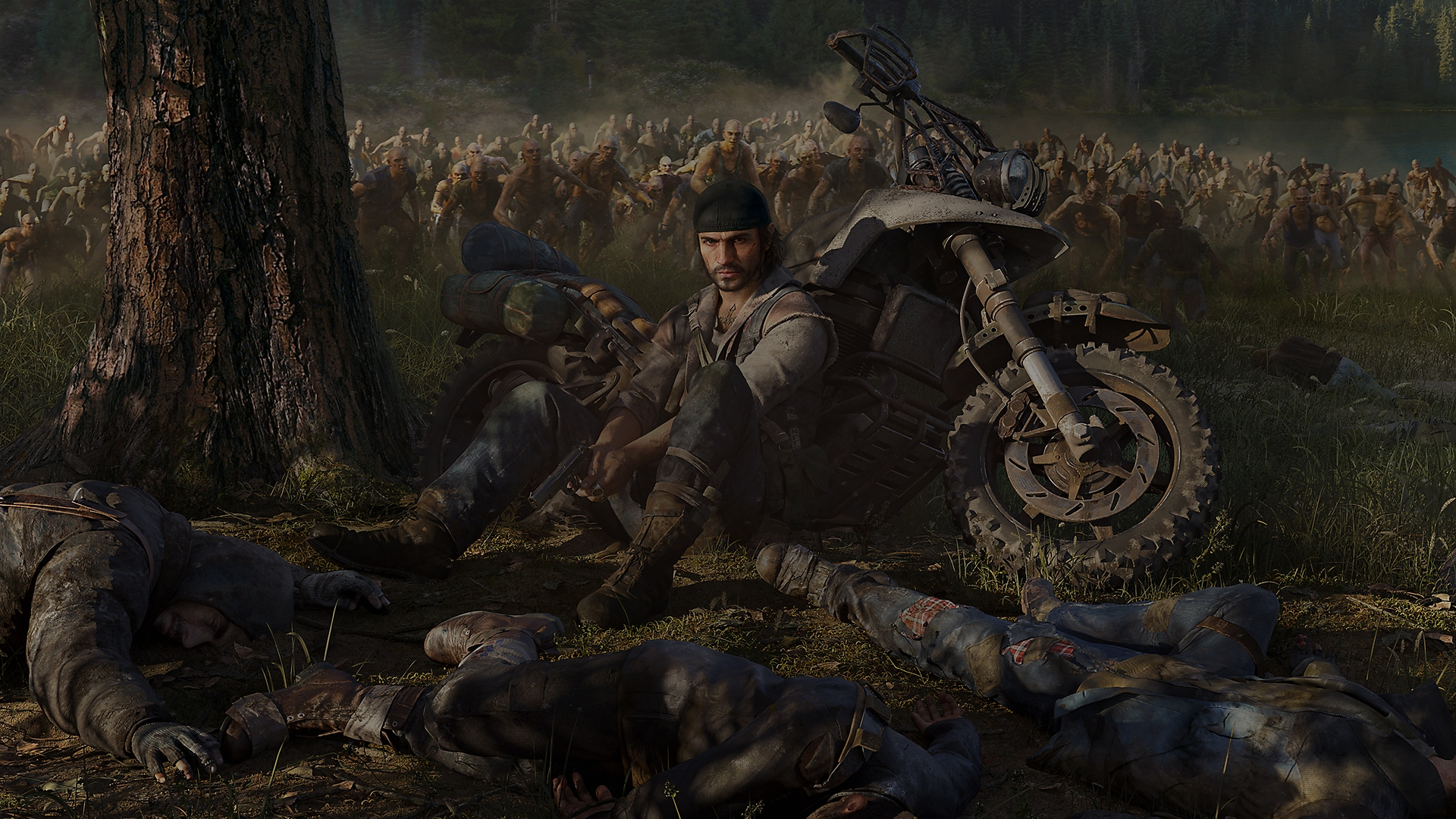 days gone background