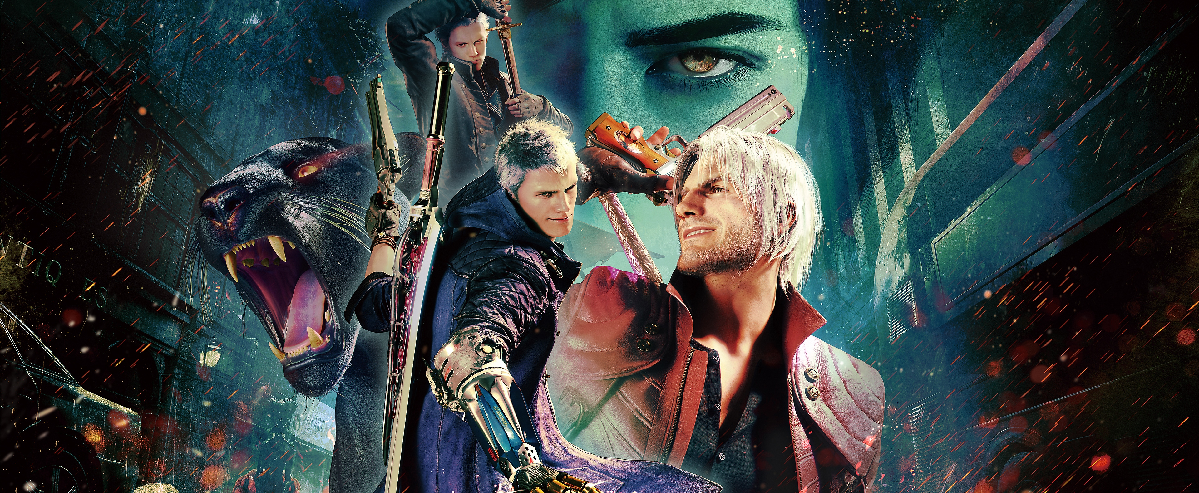Devil May Cry 5: Special Edition - Tasto di ritorno unitario Art
