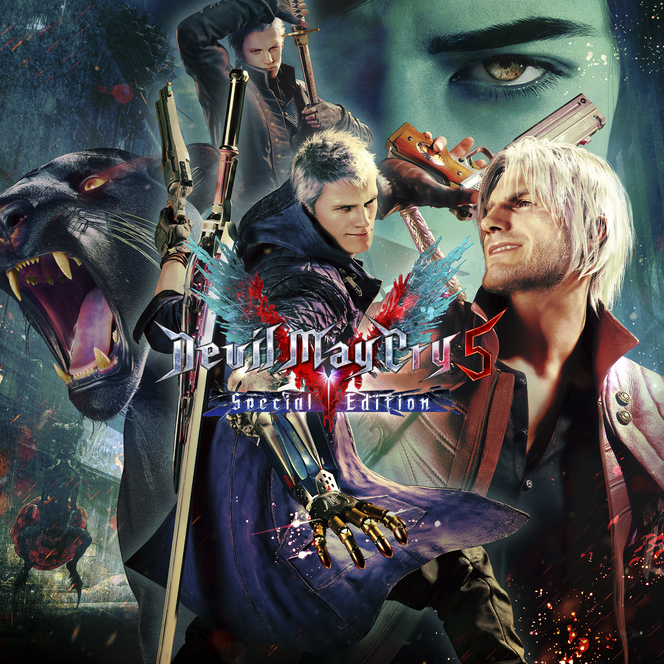 Devil May Cry 5: Special Edition – butiksomslag