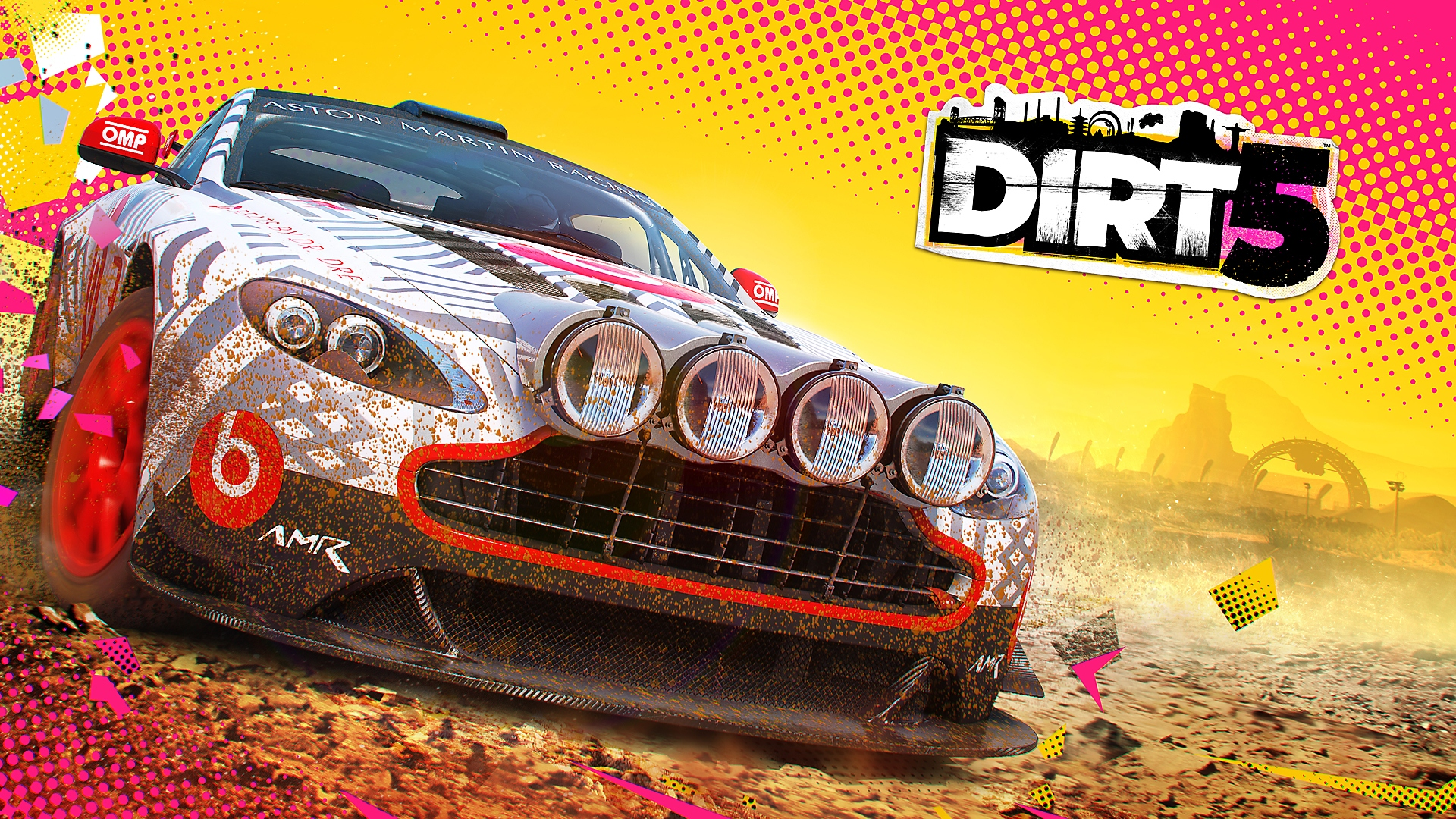 Dirt 5. essentieel artwork