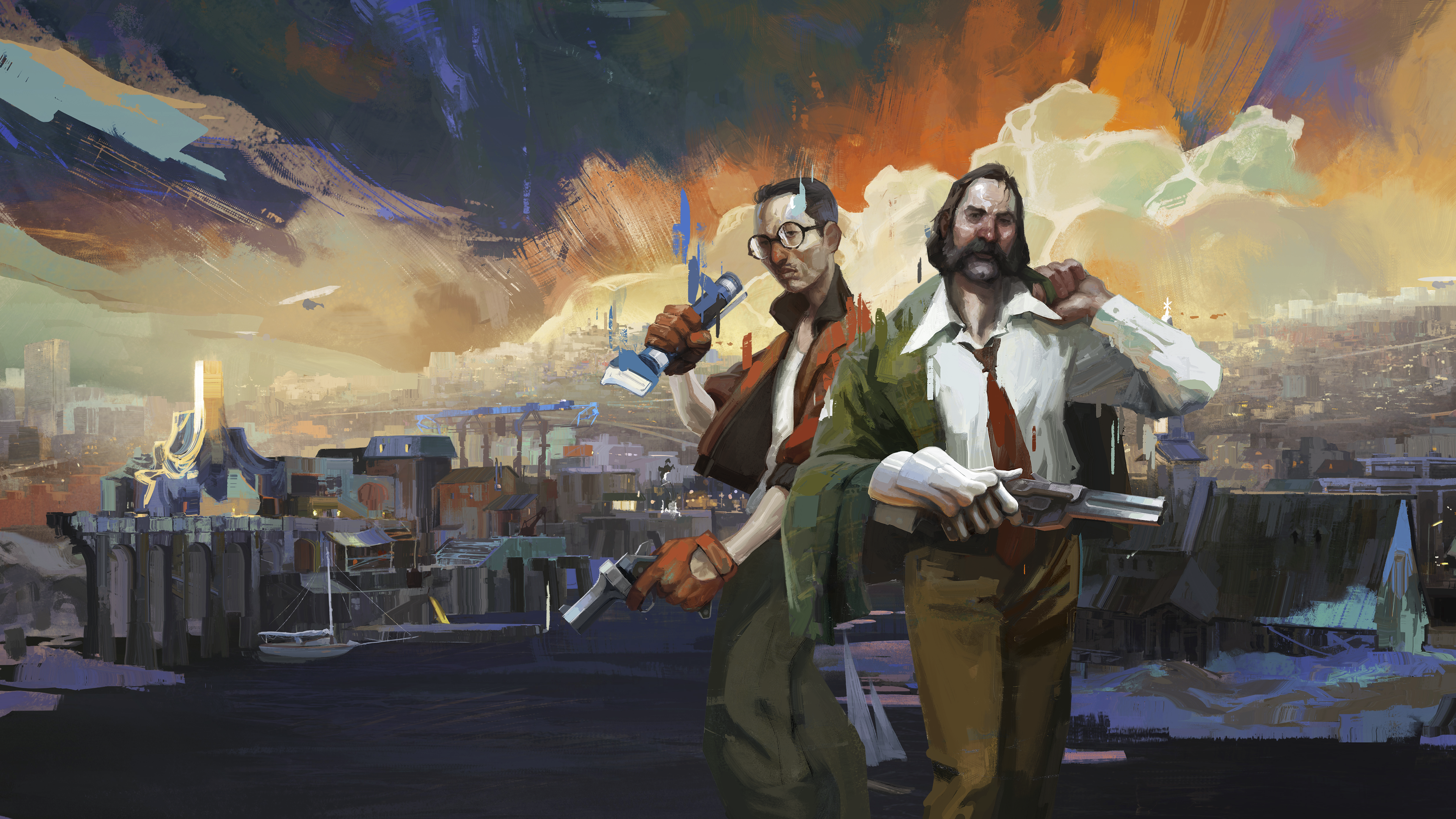 Disco Elysium artwork