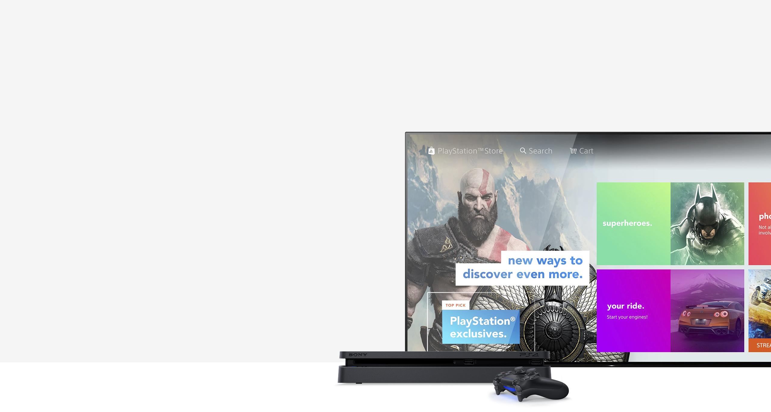 PlayStation Store - huge range