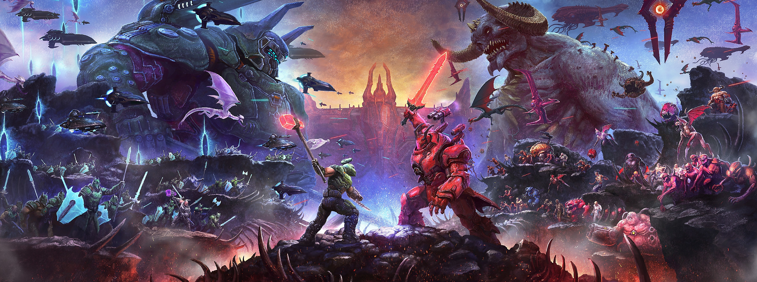DOOM Eternal The Ancient Gods Part Two DLC artwork