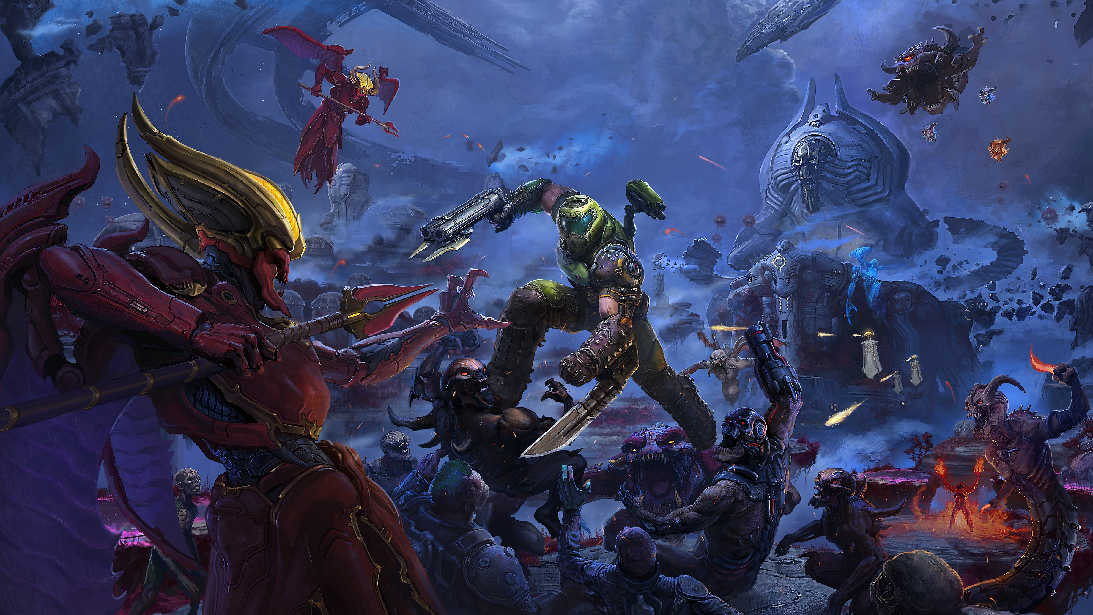 Doom Eternal The Ancient Gods Part One artwork