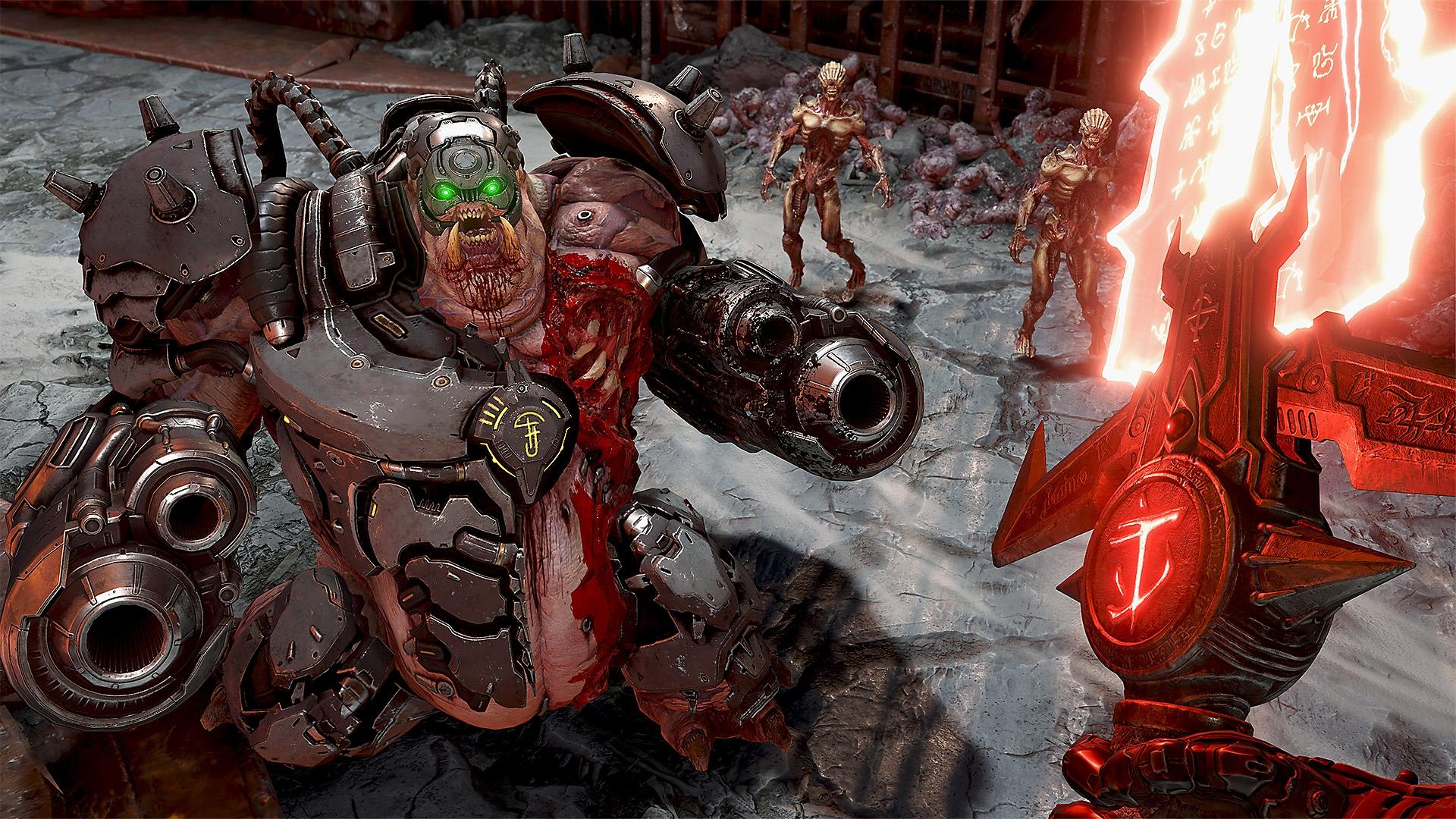 لقطة شاشة لعبة DOOM Eternal
