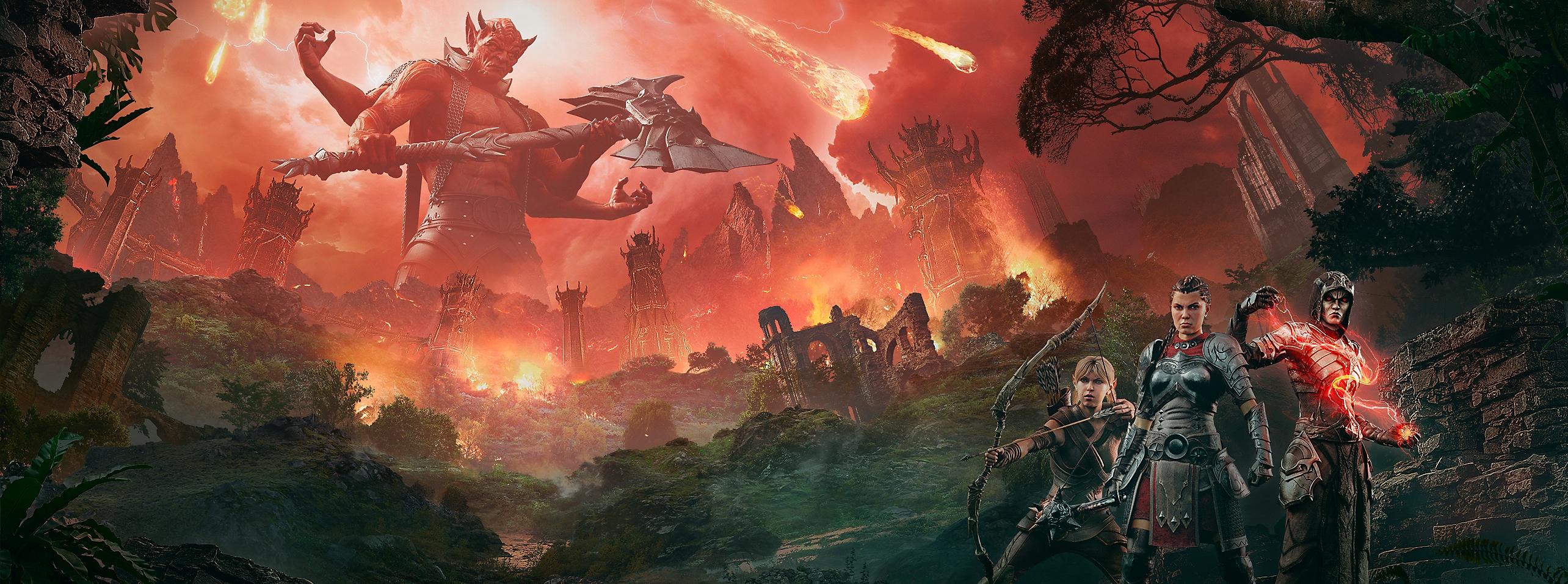 The Elder Scrolls Online - Blackwood key art