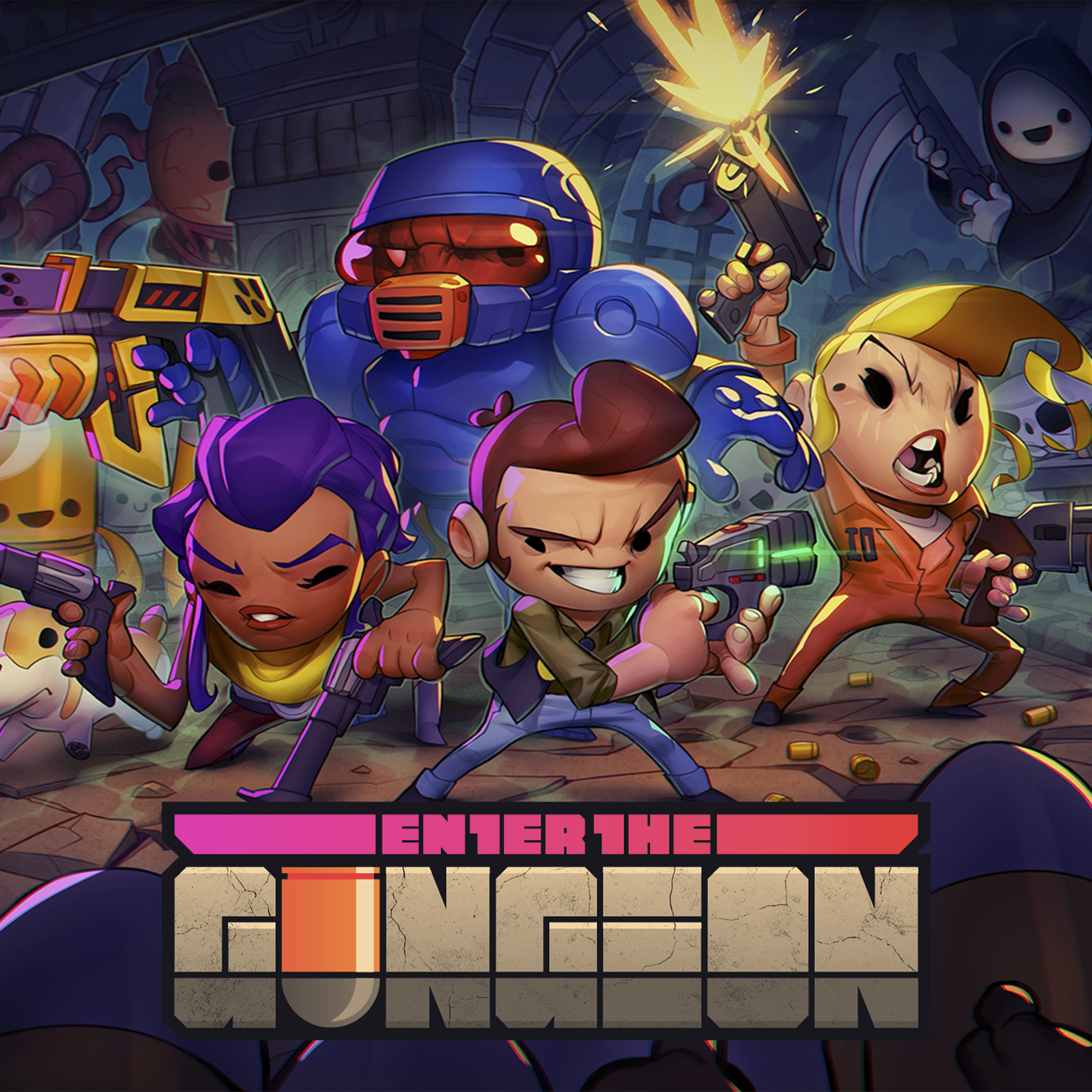 Enter the Gungeon free with Play at Home