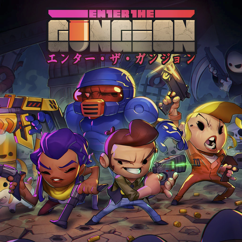 『Enter The Gungeon』が「Play at Home」で無料