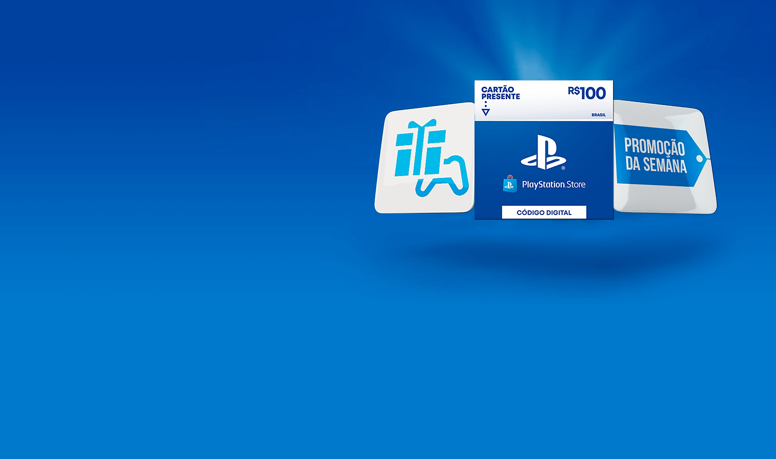 PlayStatione Store – фон раздела
