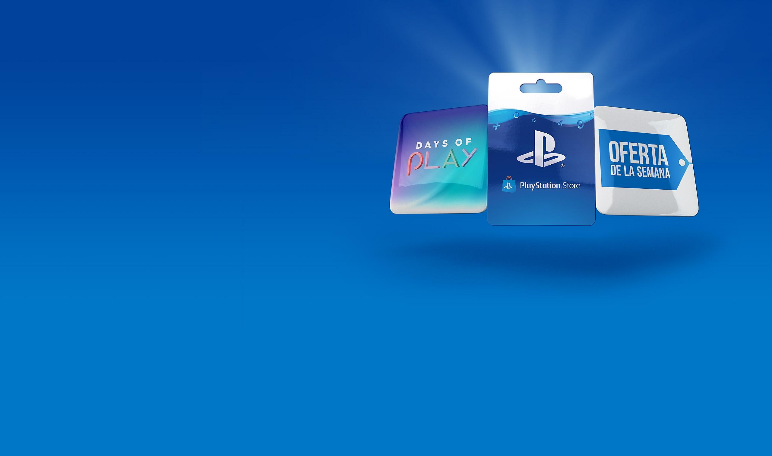 Bloque de fondo de PlayStation Store