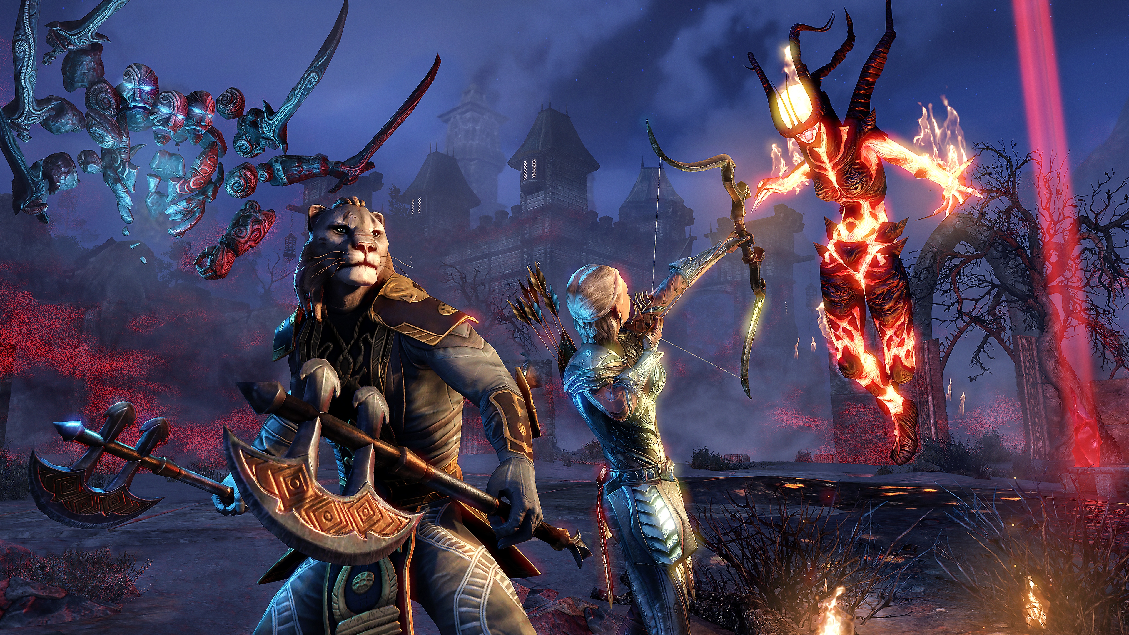 The Elder Scrolls Online - captura de pantalla del juego base