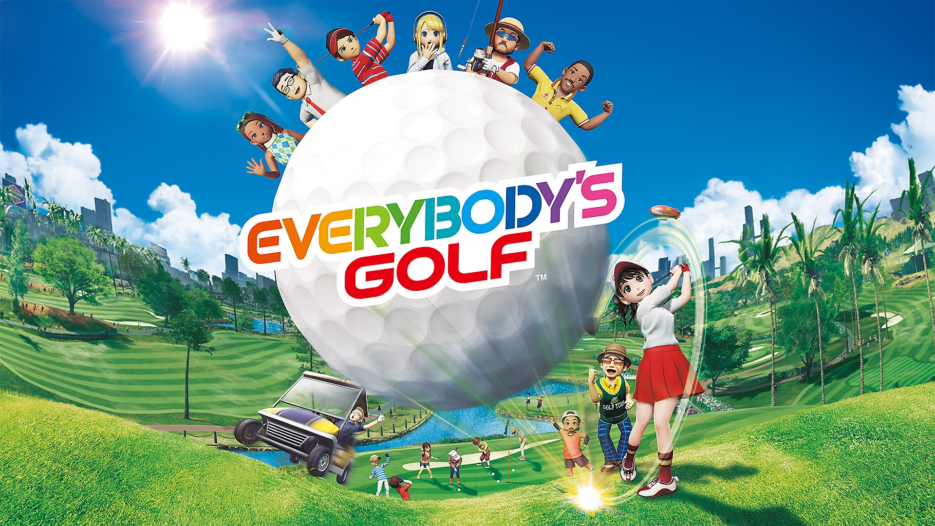 Everybodys Golf - Launch Trailer | PS4