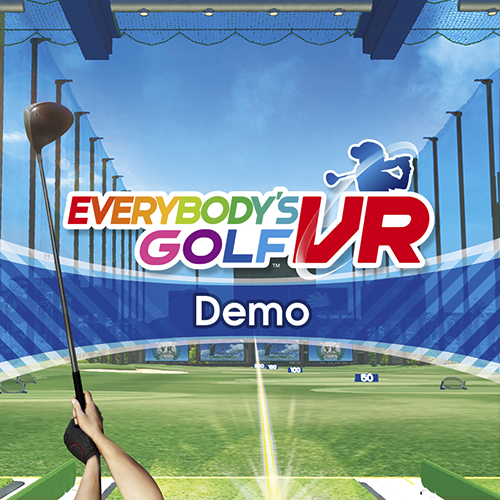 Everybody's Golf VR-demo