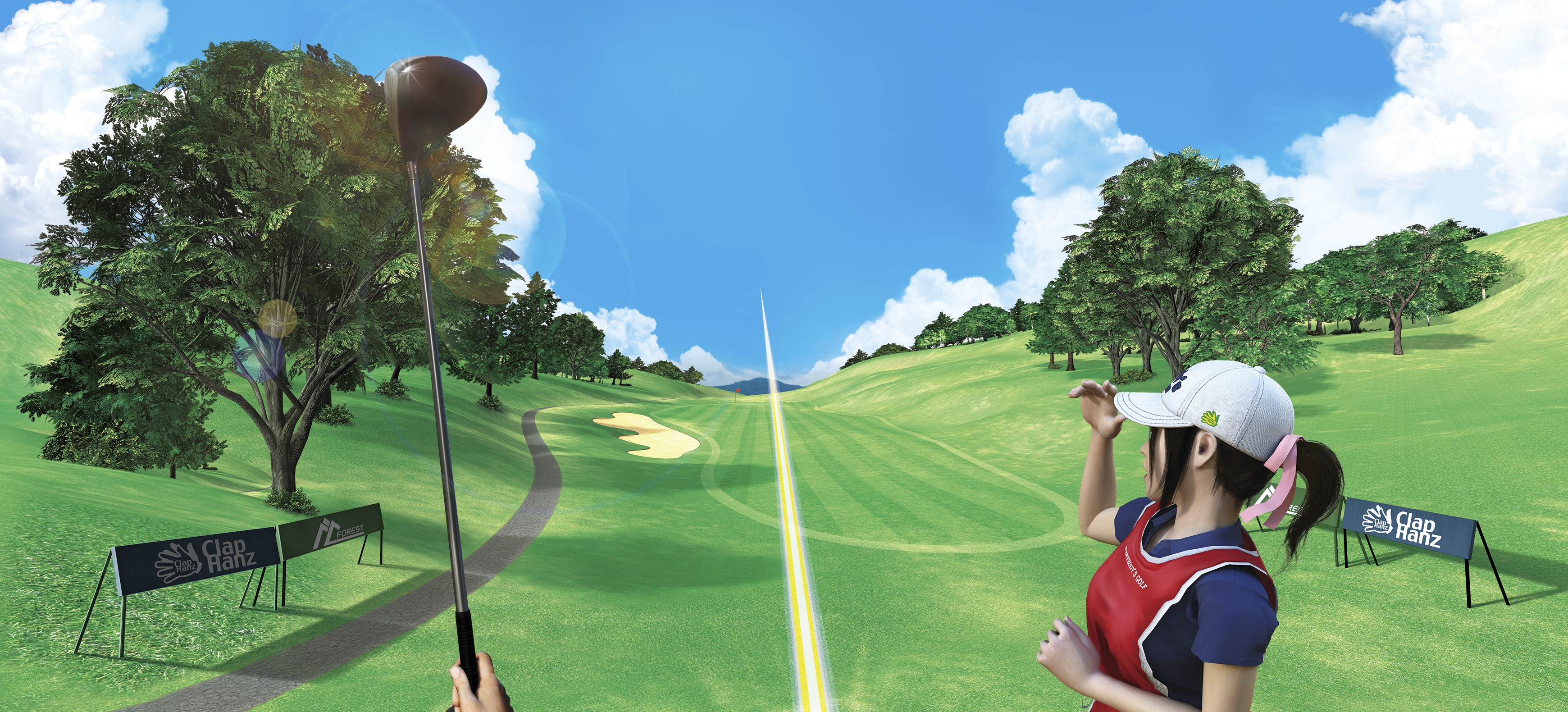 Everybody's Golf VR hero