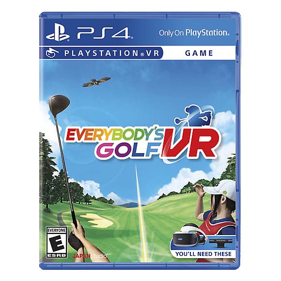 everybody's golf VR blu ray