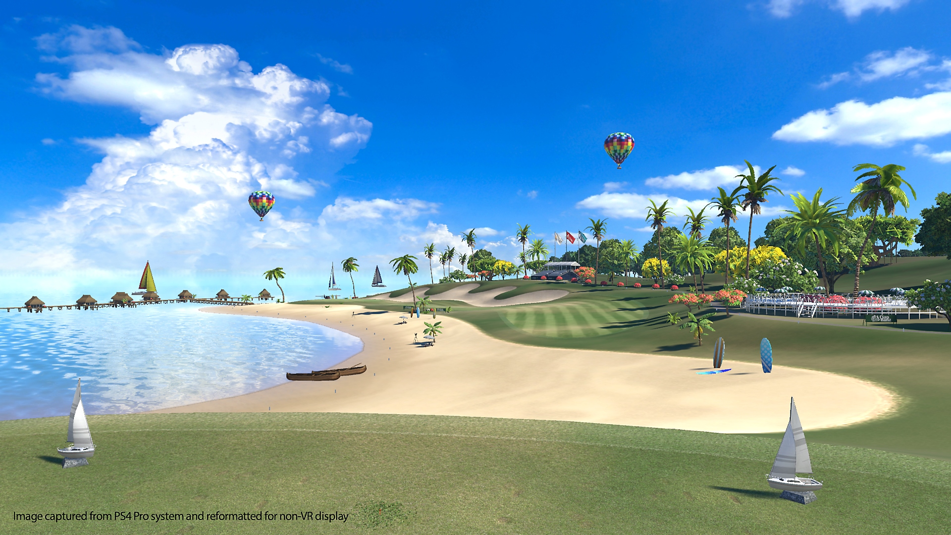 capture d'écran everybody's golf vr