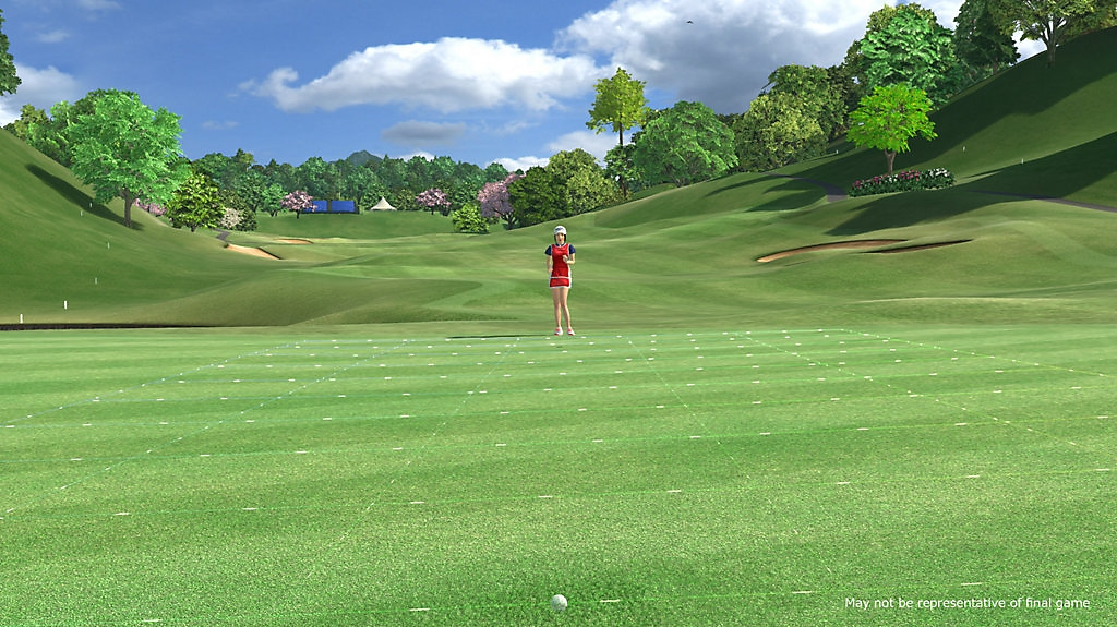 everybody's golf vr screenshot