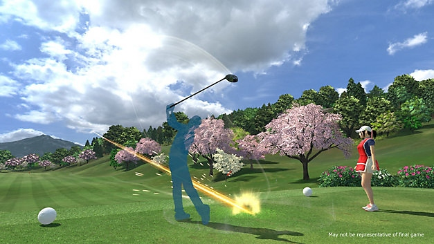 everybody's golf™ vr-skärmbild