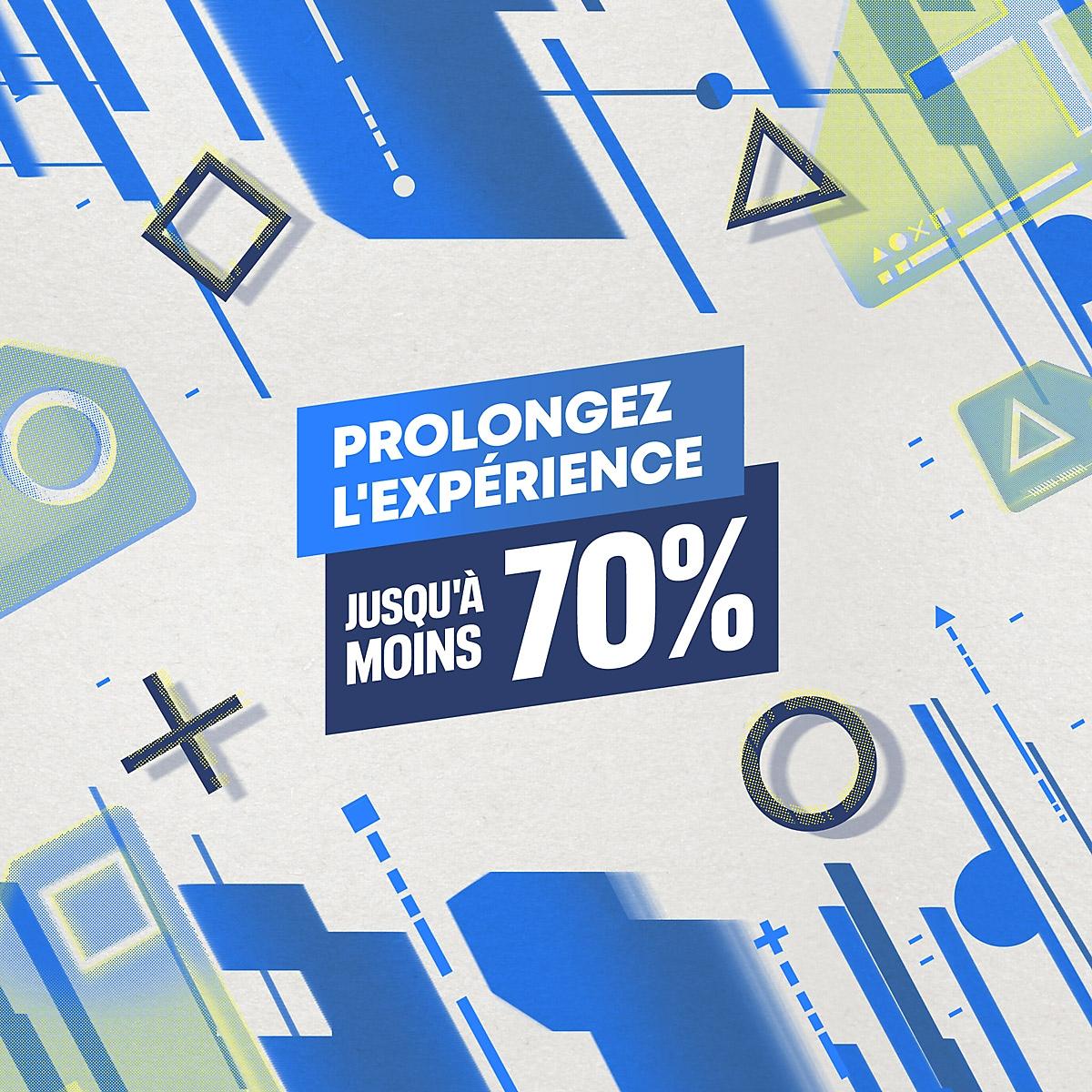 PlayStation Store - Promo Jeux à grand succès