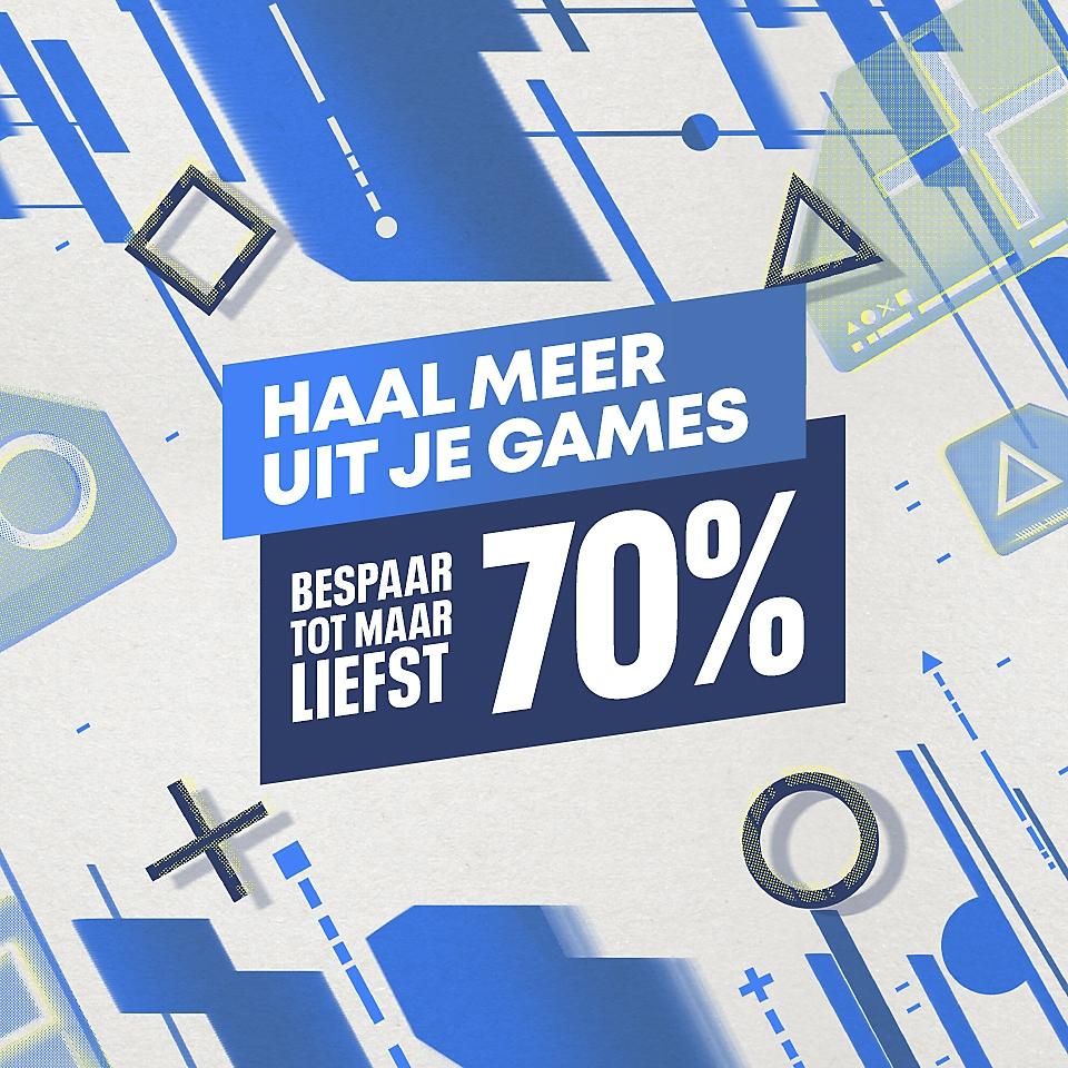 PlayStation Store - Haal meer uit je games-uitverkoop