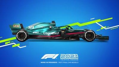 مظهر سيارات لعبة F1 2021 - Aston Martin