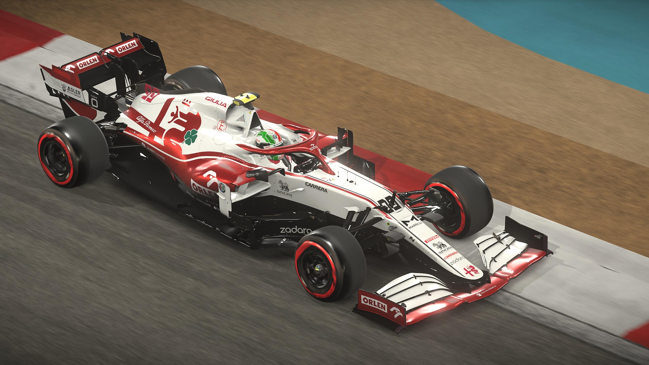 لقطة شاشة لعبة F1 2021