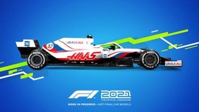 مظهر سيارات لعبة F1 2021 - Haas