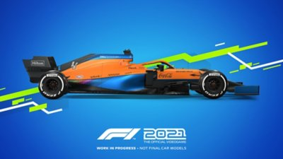 مظهر سيارات لعبة F1 2021 - Mclaren
