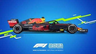 مظهر سيارات لعبة F1 2021 - Red Bull