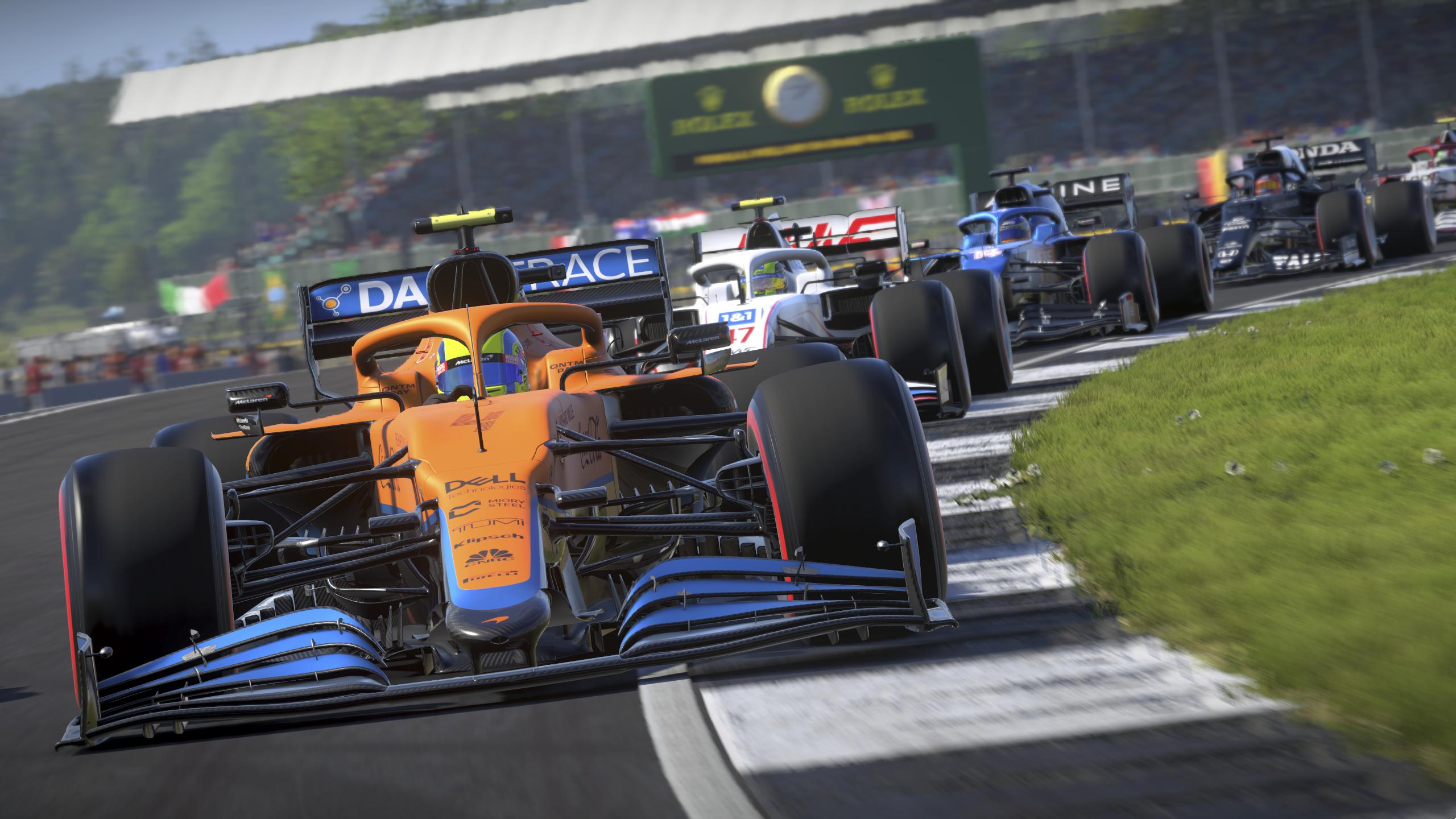 العمل الفني للعبة F1 2021
